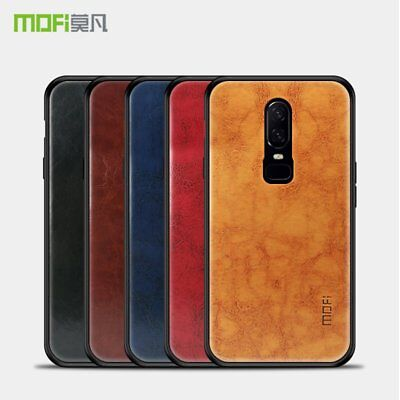 Mofi Pin Vintage Classical Faux Leather Case Cover for OnePlus 6