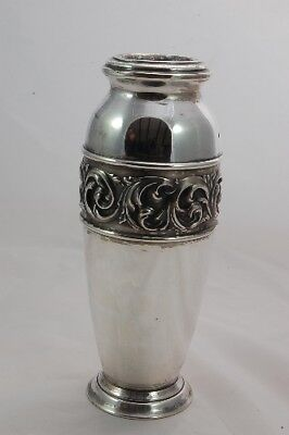 Silver Plated Vase - 18cms
