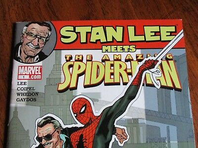 Marvel  Stan Lee Meets The Amazing Spider Man #1   2006