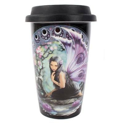 Anne Stokes boxed Travel Mug featuring the Naiad design