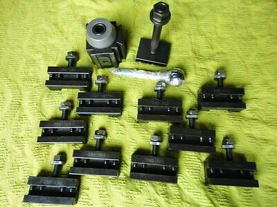 Lathe Small Tool Post with Quick Change Tool holders