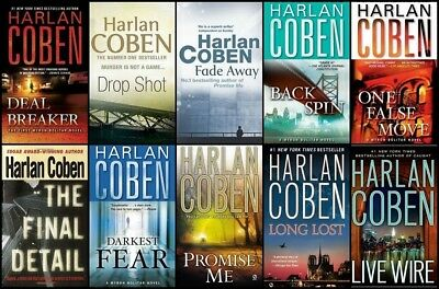 Harlan Coben - Myron Bolitar 1-11 Audiobooks Collection  (MP3-DVD)