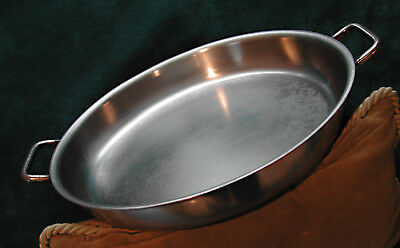 Rare Vintage Commercial-Grade Nsf-Certified 14-Inch Sitram Paella Pan & Lid