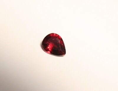 0.3ct AAA Mahenge Red Spinel – Superb Rare Clean Flourescent Spinel Gem