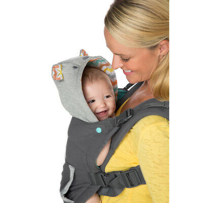 Infant Baby Cuddle Up Ergonomic Hoodie Carrier, By Infantino