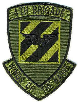 US Army Patch: 4th Brigade (Aviation) 3rd Infantry Division
