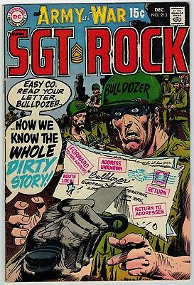 Our Army At War Sgt Rock #213