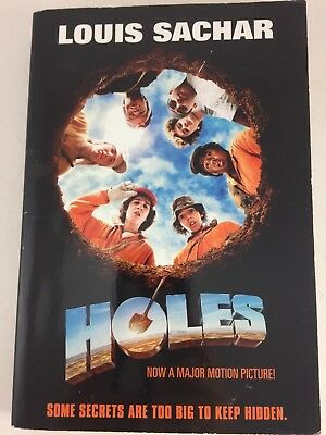 Holes By Louis Sachar Paperback Book Mystery Tween Book