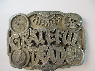 1992 Grateful Dead Belt Buckle 1 of 3 Series by Legends ~Nice Needs Cleaned RARE