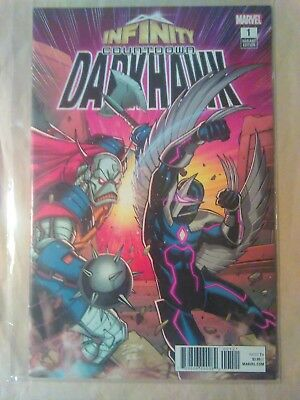 Infinity Countdown Darkhawk #1 Cover B Variant Ron Lim Cover