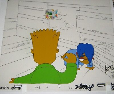 Original production cel  - Simpsons