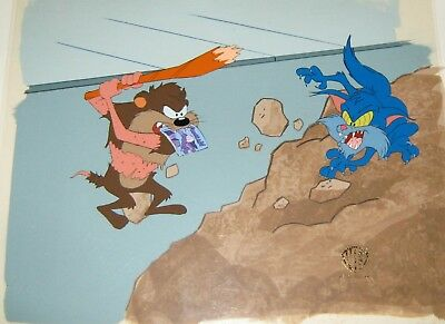 Original production cel  - Taz-mania