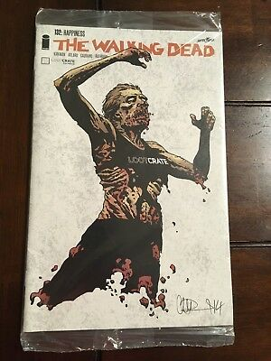 THE WALKING DEAD Comic Book #132: Happiness SEALED! Loot Crate Exclusive NM