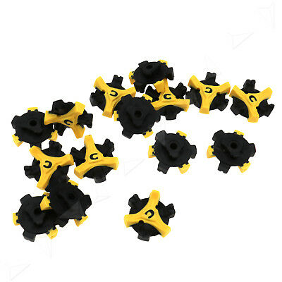 15Pcs Golf Shoe Spikes Cleats Studs Pins Q-LOK Style Replacement For Footjoy
