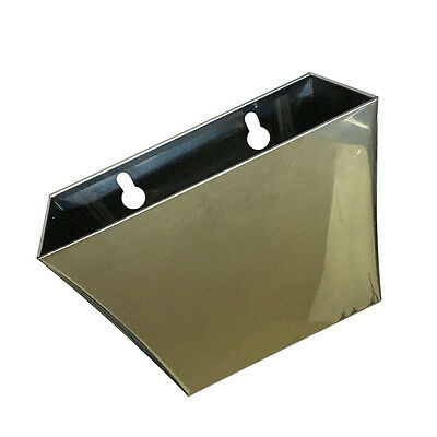 Wall Mount Bar Beer Bottle Cap Catcher Box Stainless Steel Holder Box Pop