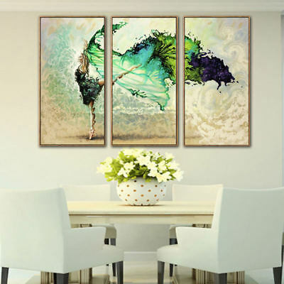 Modern Abstract Home Hotel Wall Decor Art Gift Spray Canvas Painting Unframed