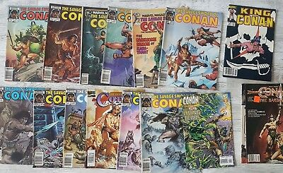 Conan The Savage Sword and other Various Comics Lot