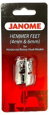 Hemmer Foot Set 4mm+6mm 200081104 (200326001) Janome