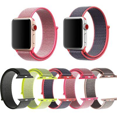 For Apple Watch All Serise Quick Replacement Nylon Fabric Band Strap