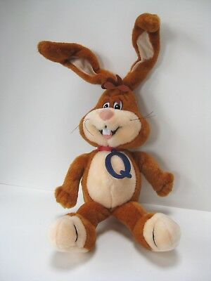 Vintage 1996 Nestles Quik/quick Milk Plush Stuffed Animal Bunny Rabbit