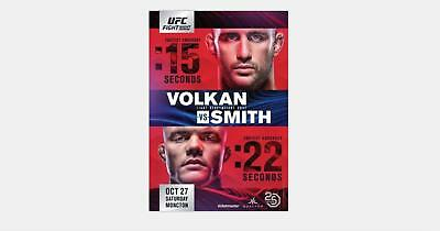 UFC 158 Georges St Pierre vs Nick Diaz MMA Event Art Silk Poster 12x18 24x36