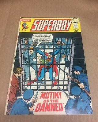 SUPERBOY #186 1972 Superman Action Legion of Super-Heroes Bronze Age DC Comics