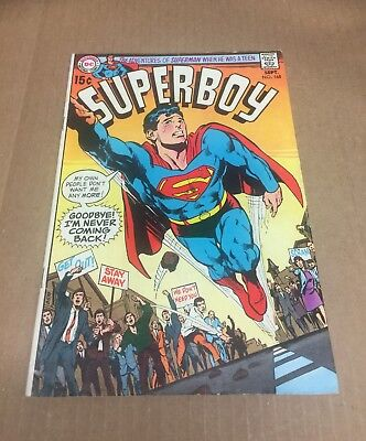 SUPERBOY #168 1970 Superman Action Legion of Super-Heroes Bronze Age DC Comics