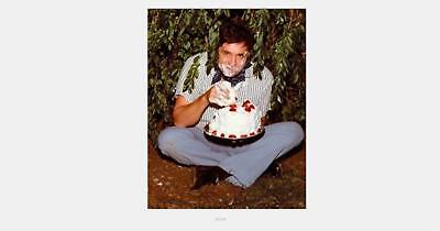 Art Johnny Cash Eating Cake Poster 20x30 24x36 American Singer P742
