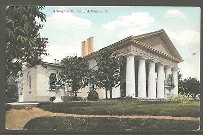 Arlington Mansion 1907 Divided Back PC Tinted Halftones by Leet Brothers UNUSED