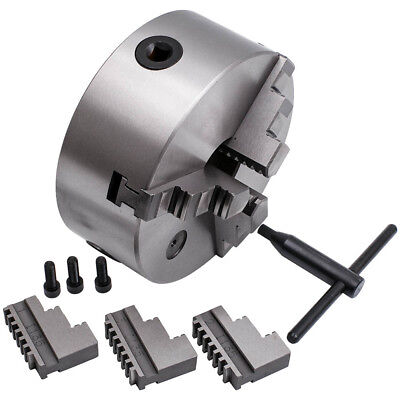 3600 r/min Lathe 3 Jaw Chuck Tool Holder 45mm Self Centering Hardened Steel