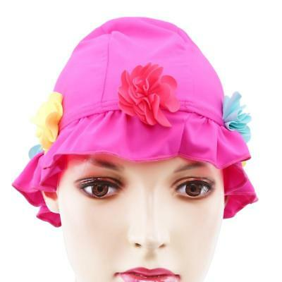 Unisex Adult Children Swimming Pool Cap Silicone Swim Hat Waterproof Shower T