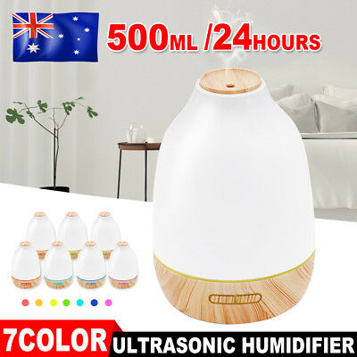 6L Air Humidifier Nebuliser Aroma Ultrasonic Diffuser Cool Steam Mist Purifier