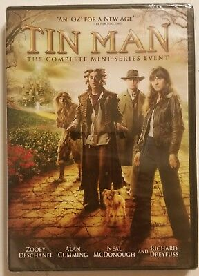 TIN MAN The Complete Mini-Series Event (DVD, 2008) SHIPS OUT FAST Mon-Sat!