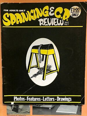 vintage spanking magazine spanking and CP Review Vol 1 No. 1