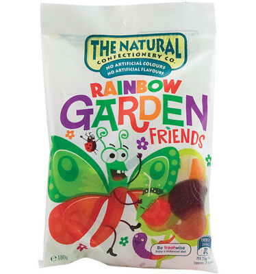 The Natural Confectionery Co. Garden Friends 180g x 12