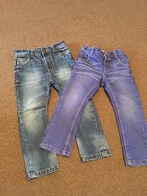 Boys Next Jeans X2 Age 2-3 Years