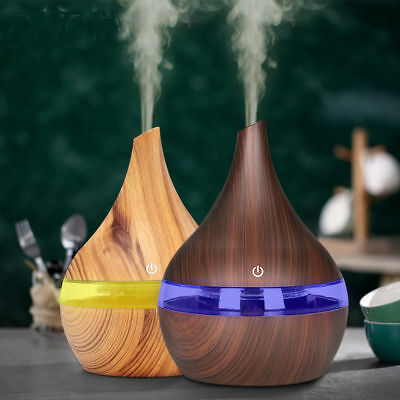 Essential Oil Aroma Diffuser Ultrasonic Humidifier Aromatherapy LED Purifier CHL