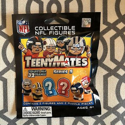 1 Brand New Unopened NFL Teenymates Series 5 LM Packages Toy Collectible