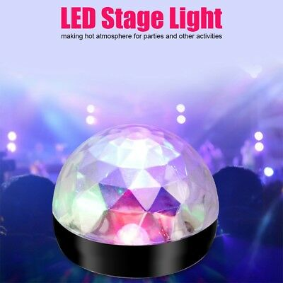LED USB RGBW Disco Ball Stage Effect Light Party Club DJ Bulb Light 3 Type