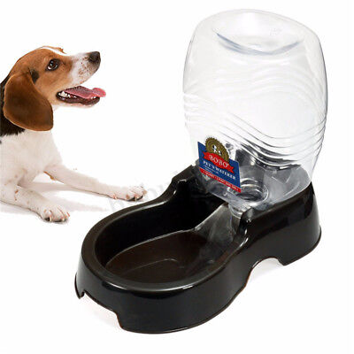 9.5L Automatic Pet Feeder Dispenser Food Water Self Bowl Dog Cat Auto Bottle New