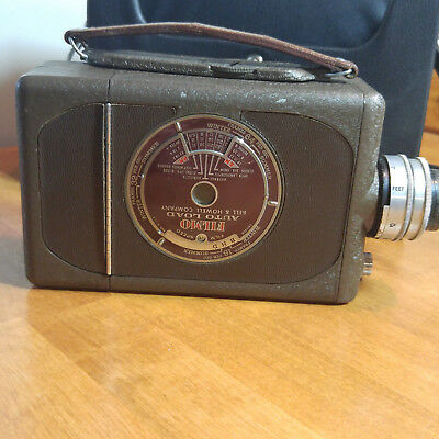 Collectible 16mm Movie Camera Bell & Howell FILMO AUTO LOAD Vintage