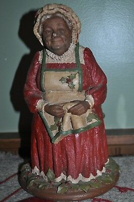 Belle Kringle Mrs. Santa Claus Figurine 1983 Tom Clark