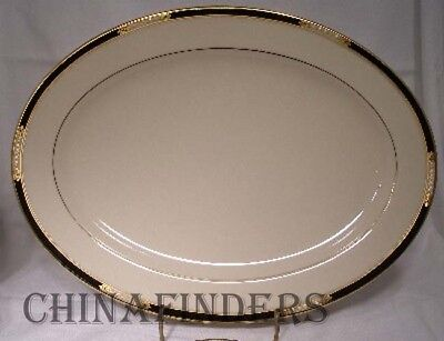 "LENOX china HANCOCK china pattern Oval Serving Platter - 13-5/8"" - Outlet Stamp"