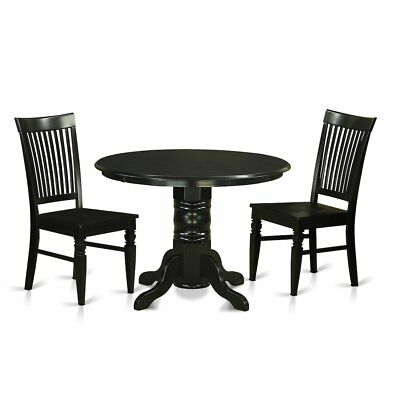 3  Pc  Kitchen  nook  Dining  set-Kitchen  dinette  Table  and  2  Dining ...