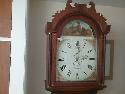Antique Longcase clock  Victorian or earlier