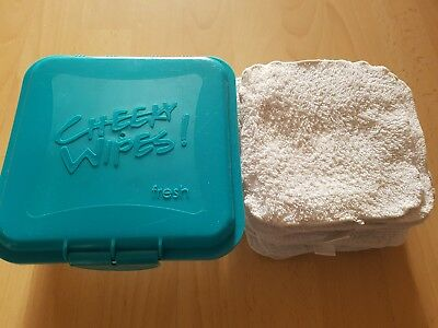 Cheeky Wipes Fresh Box with 24 used wipes
