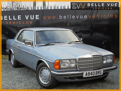 1984 (A) Mercedes-Benz 230ce Coupe Automatic W123