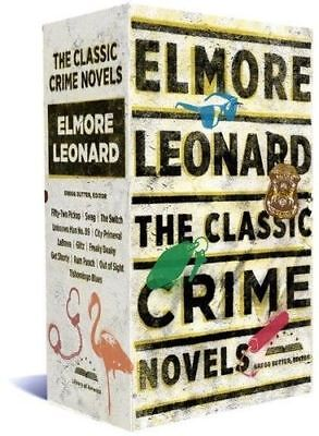 Elmore Leonard: The Classic Crime Novels by Elmore Leonard (Hardback, 2017)#1584