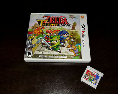The Legend of Zelda: Tri Force Heroes (Nintendo 3DS, 2015) TESTED EUC -SHIP FREE