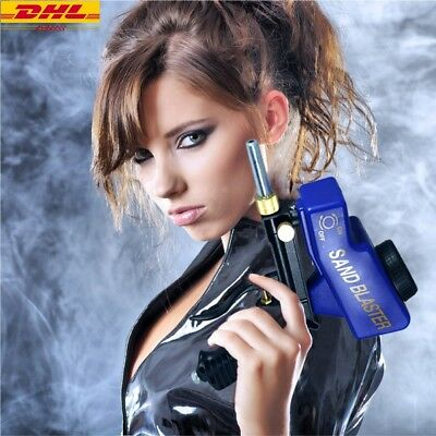 DHL Ship LEMATEC Sandblaster Gun Media Air Speed Blaster Portable Handhold Tools